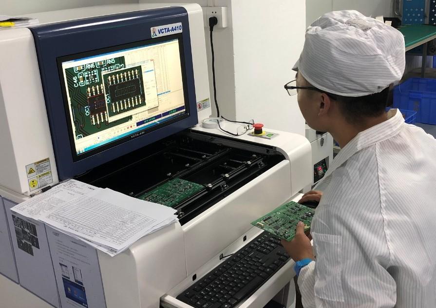 简述电子OEM代工代料中的AOI检测