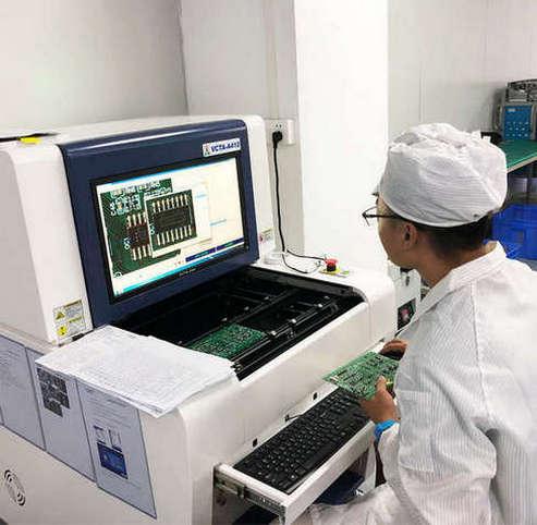 电子代工厂的贴片加工印刷检测