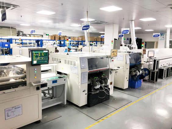 电子加工厂_SMT加工生产线类型